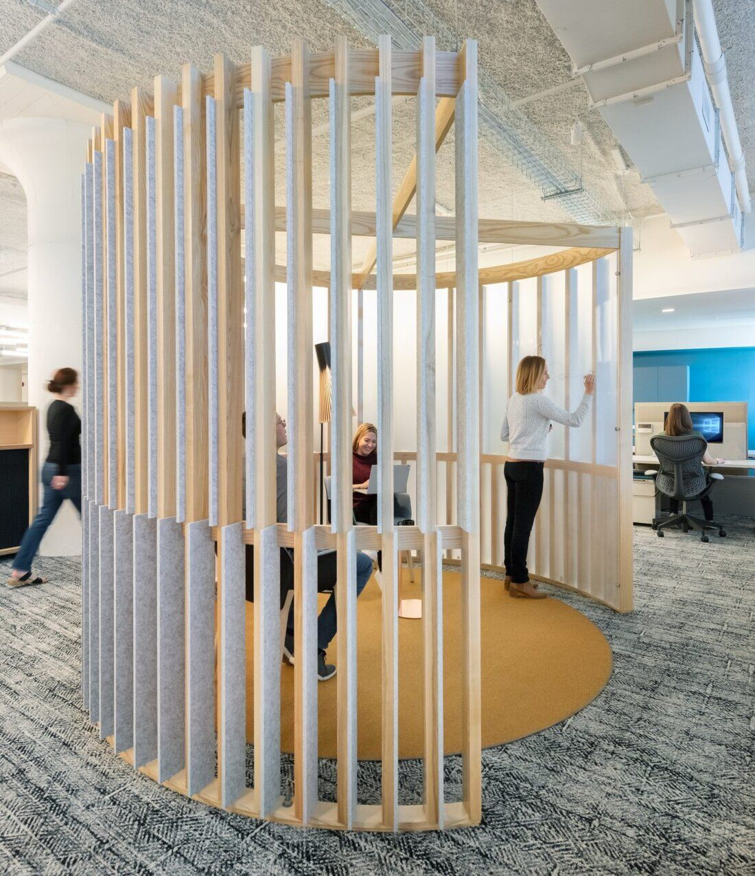 Autodesk Boston Workspace by Utile Design