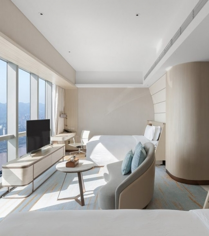 InterContinental Chongqing Raffles City & L42 Residential Clubhouse