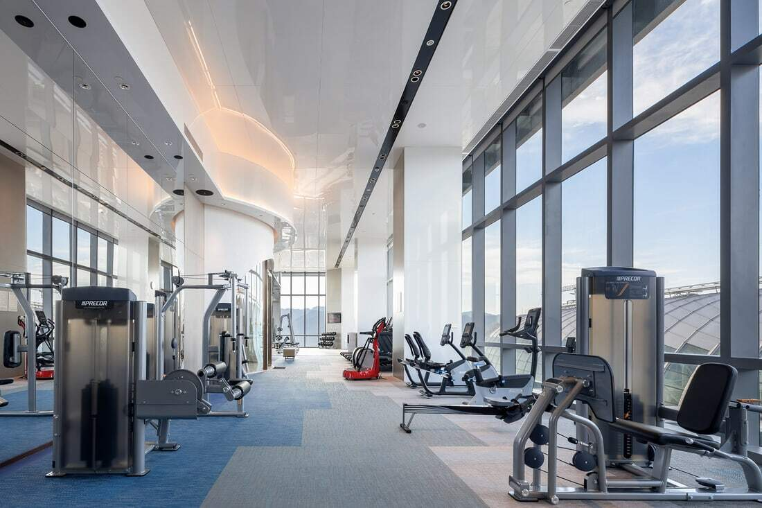 Gym, CL3 Architects