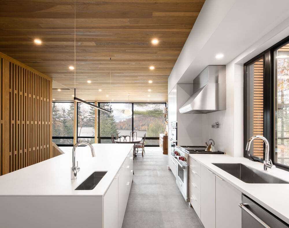 kitchen, Figurr Architects Collective