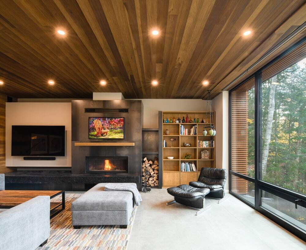living room, Figurr Architects Collective