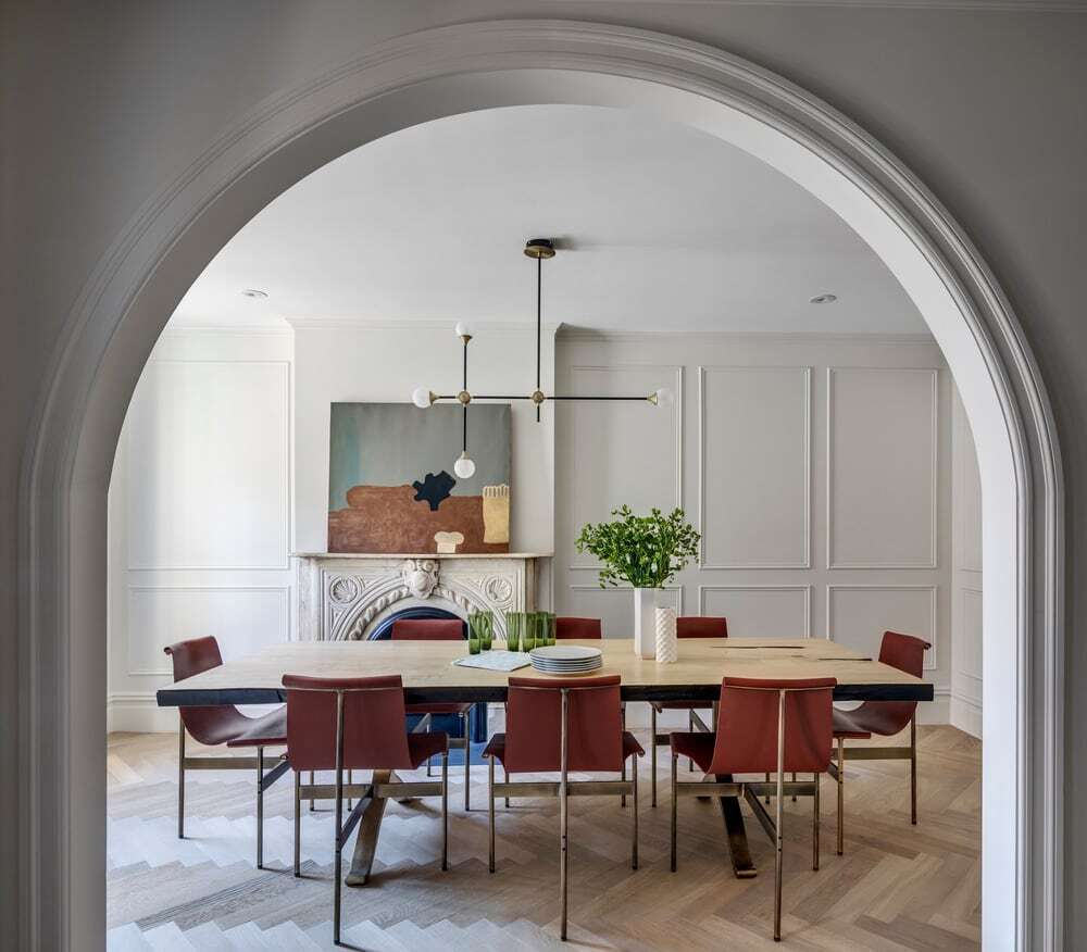 dining room, Barker Associates Architecture Office