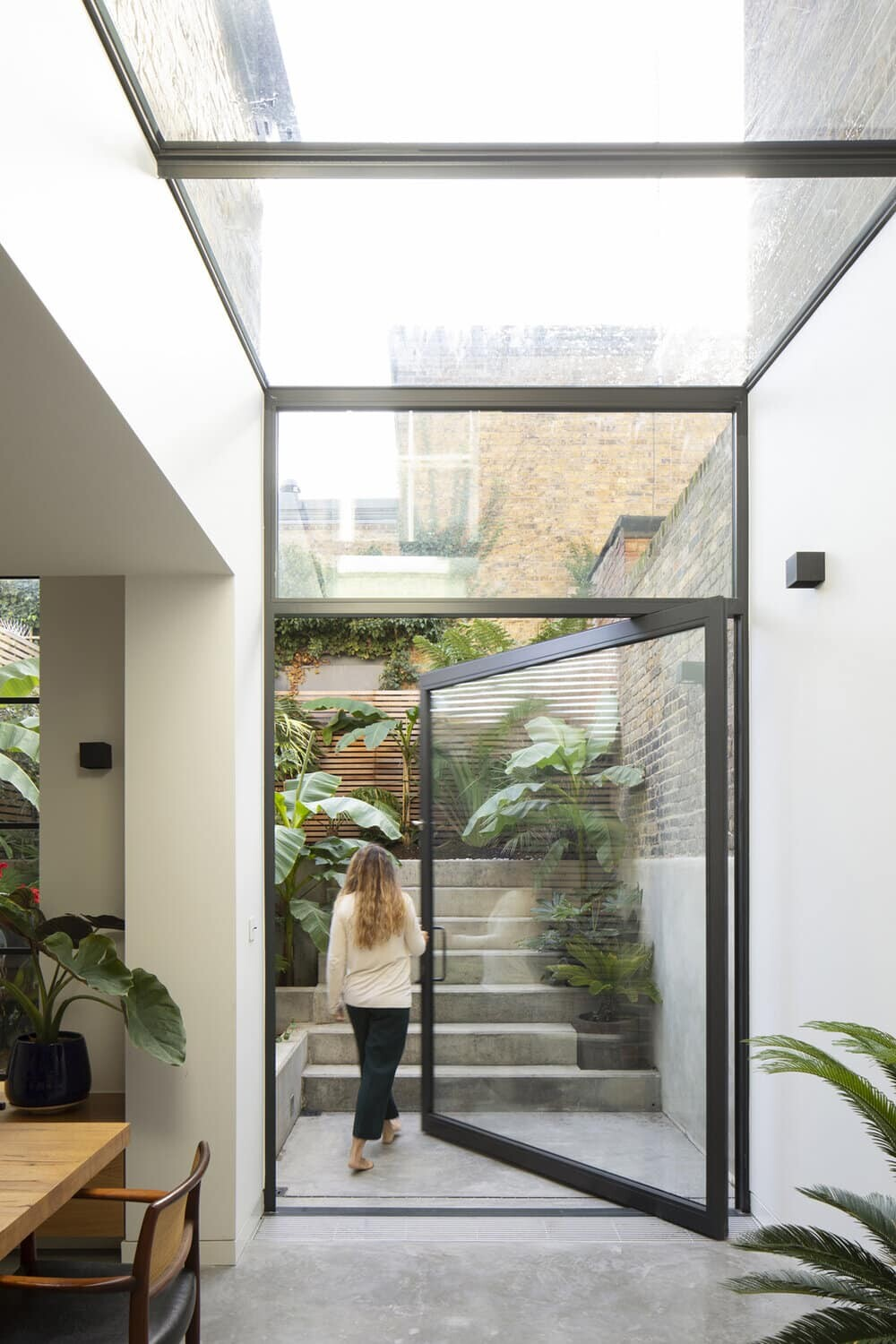 glass door, YARD Architects