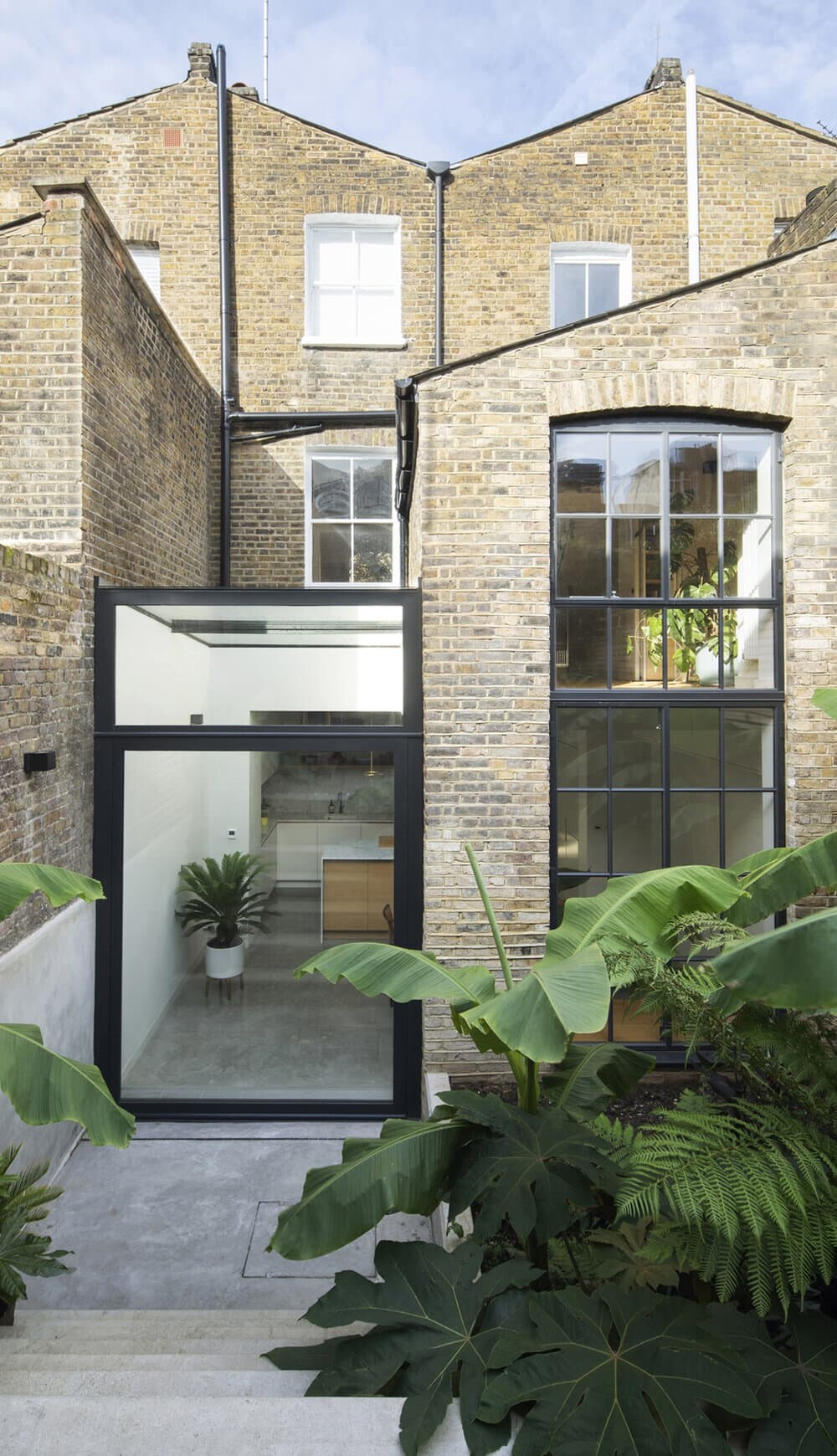 glass extension, YARD Architects