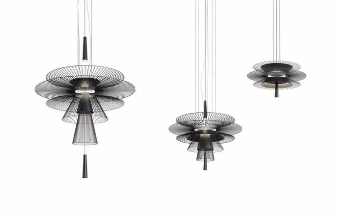 Gravity Lamp – a Modern Shape Influenced by Asian Traditional Weaving