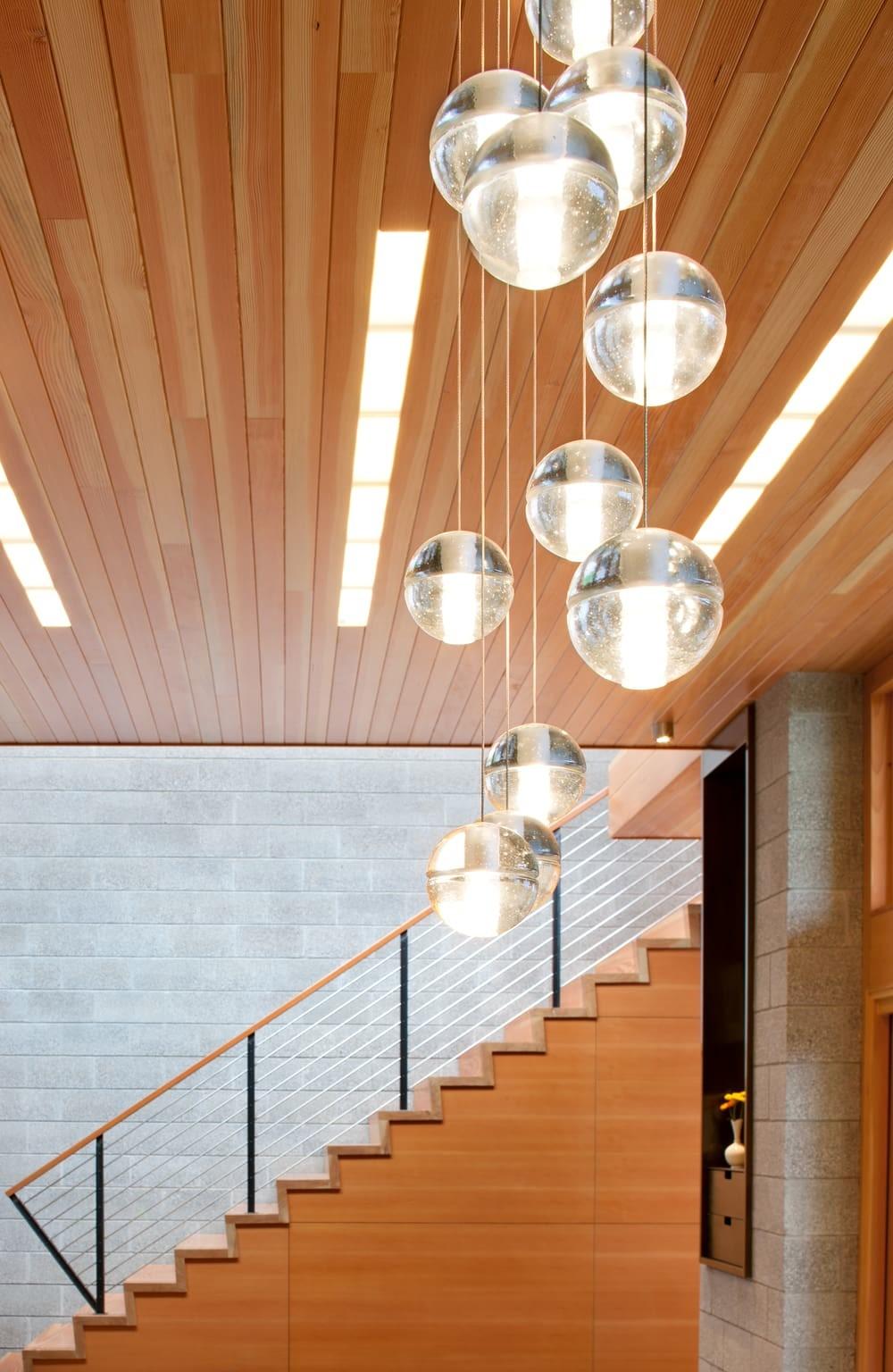 lighting design, staircase, Coates Design Architects