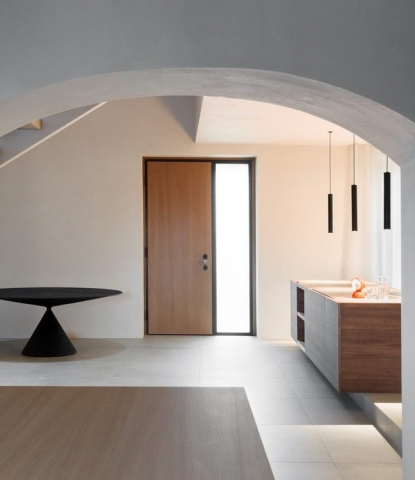 From an Old Workplace to a Modern Living Space: Montevecchia House