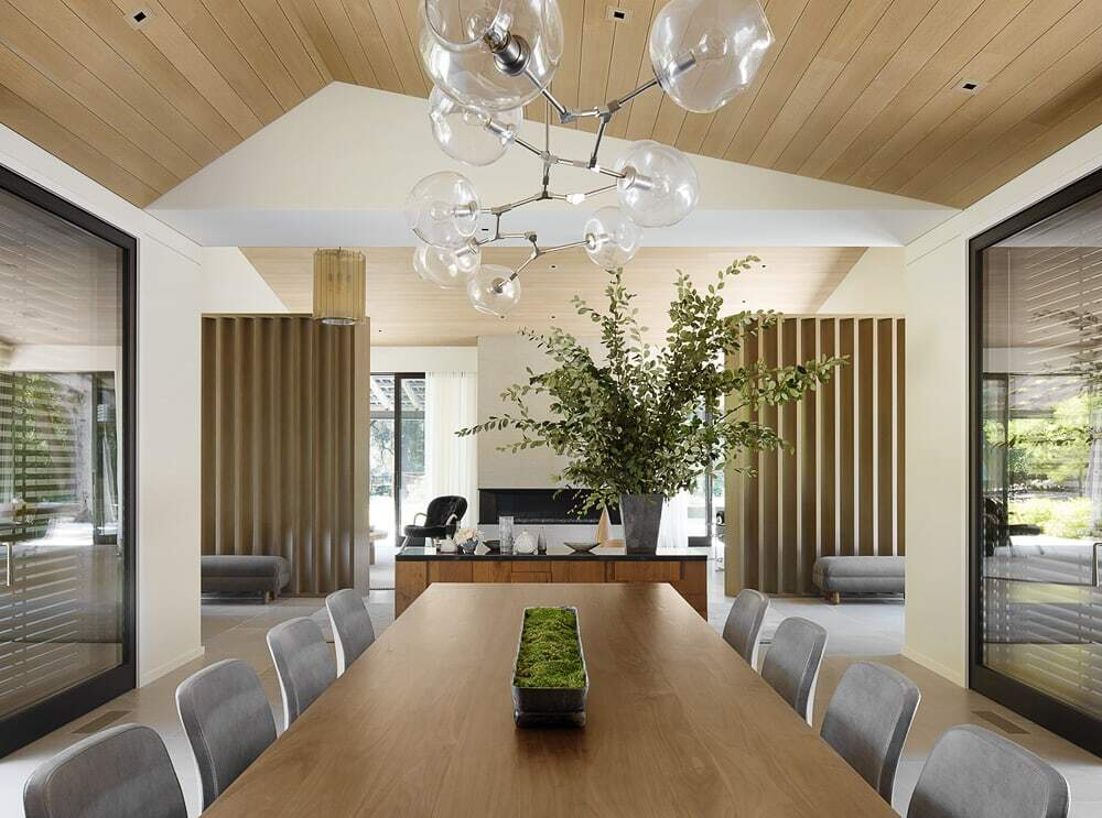 dining area, Walker Warner Architects