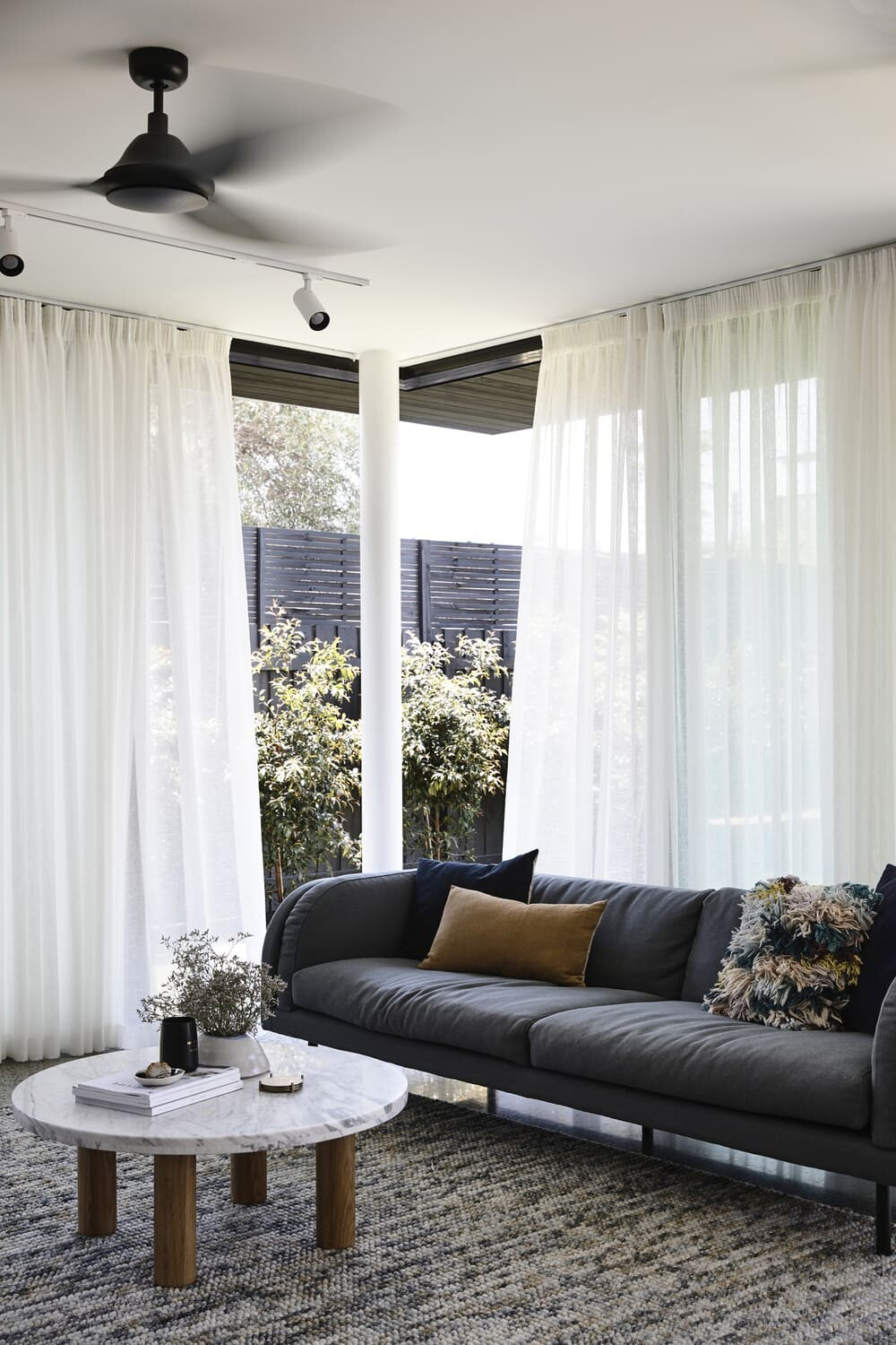 living room, Ben Callery Architects