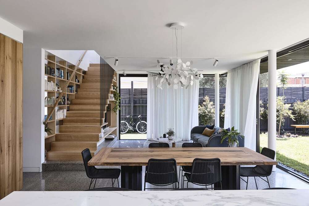 dining area, Ben Callery Architects