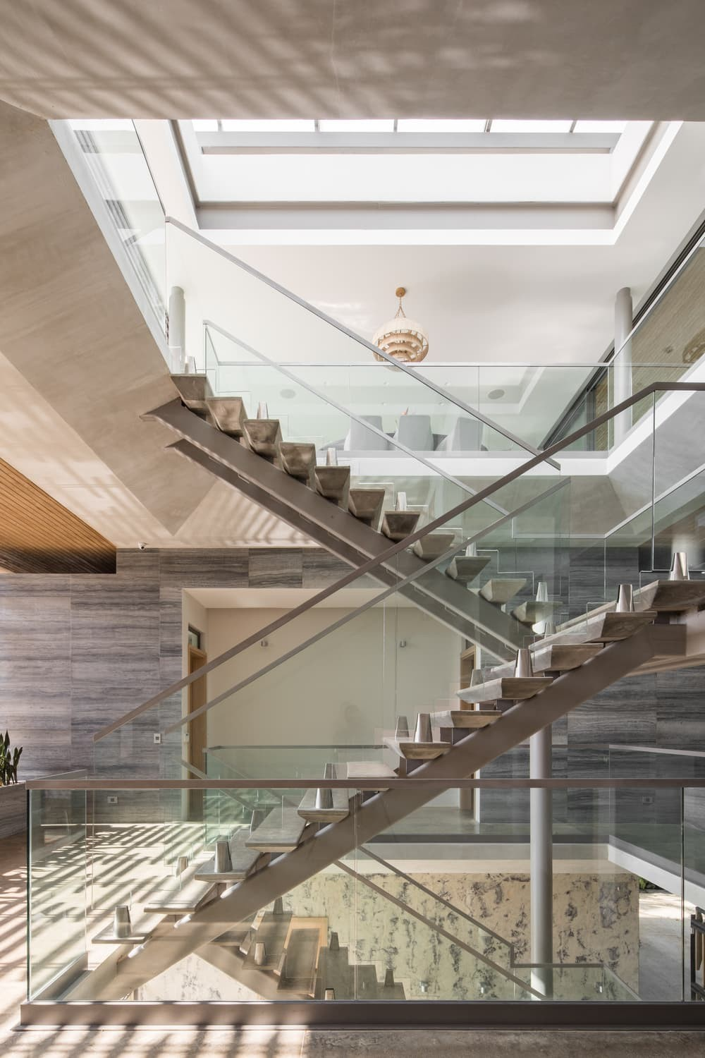 staircase by Studio Saxe Architecture