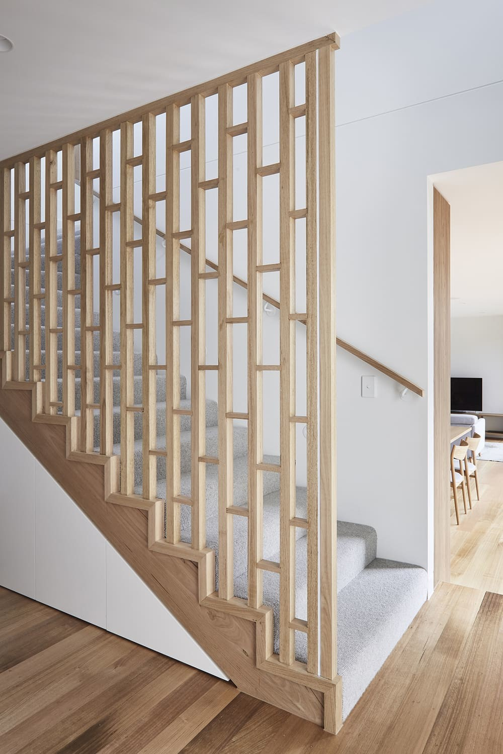 staircase, Windust Architecture x Interiors