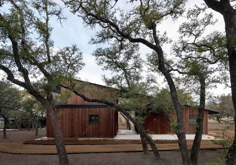 Camp Frio, a Multi-Family Compound by Tim Cuppett Architects