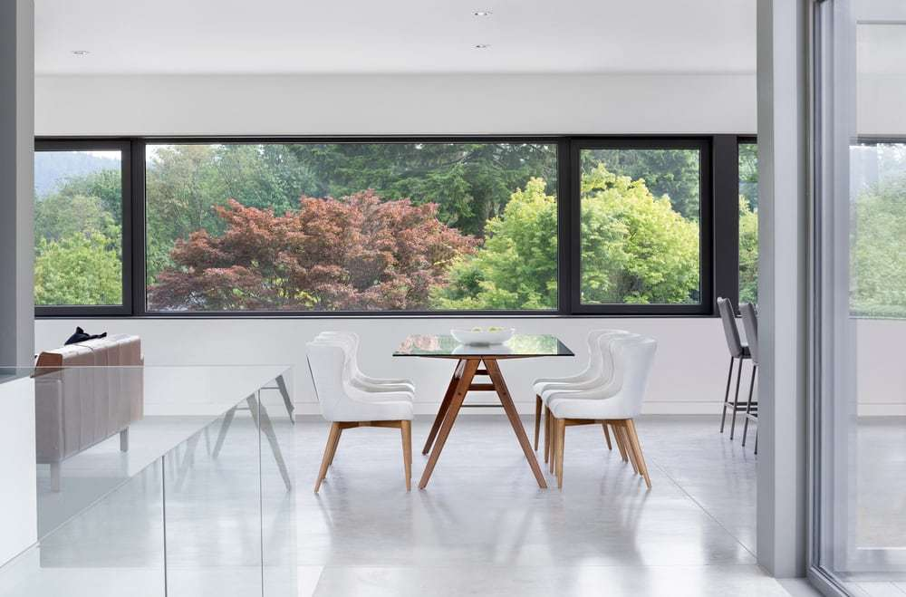 dining room by D'Arcy Jones Architects