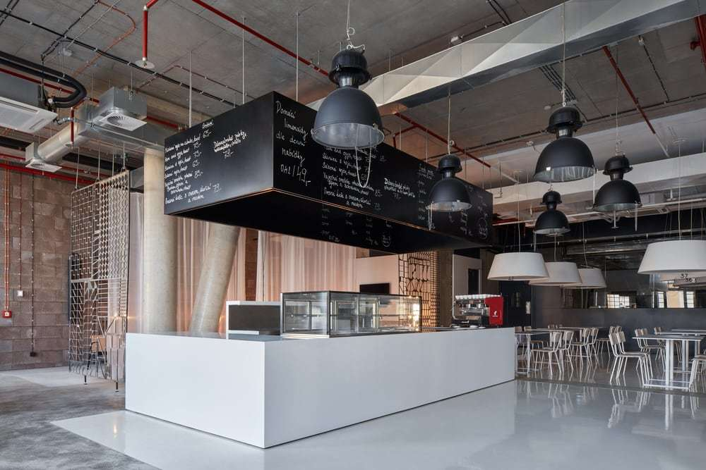 Project Five, Retail and Office Space by Qarta Architektura