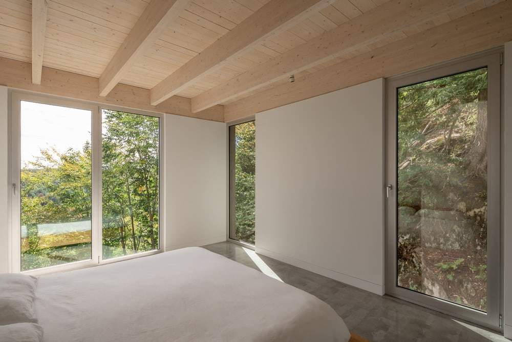 bedroom, Natalie Dionne Architecture