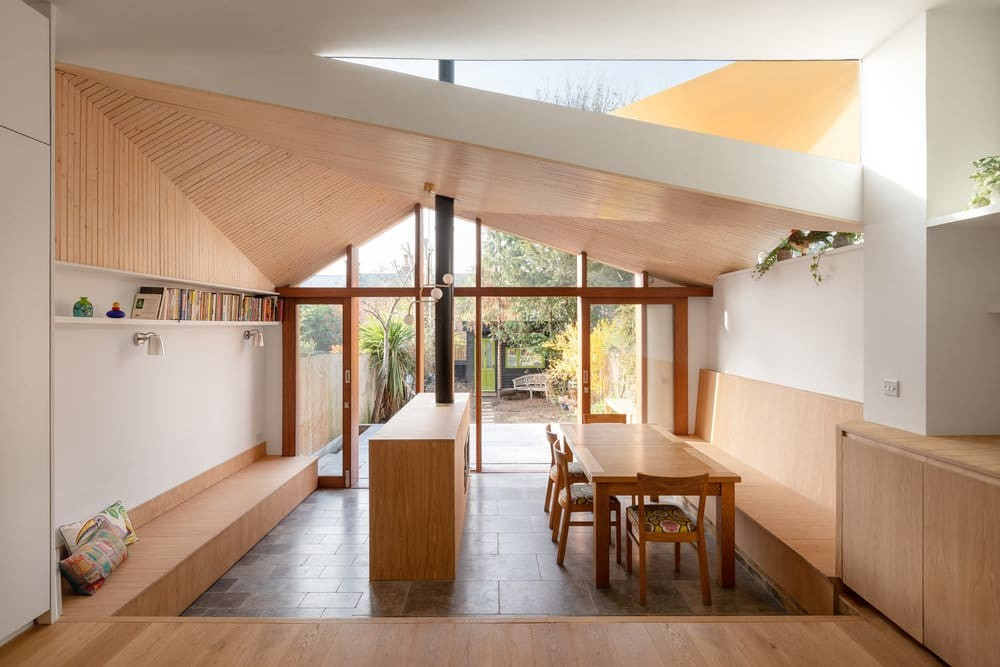 A Home Extension Which Has Been Inspired by the Feeling of Sitting Under a Tree