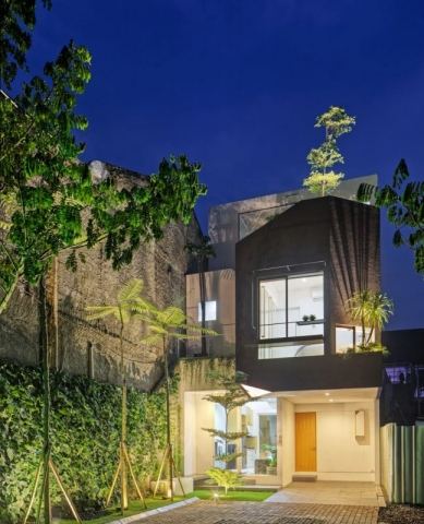 Linaya House by Delution in Ciputat, Indonesia
