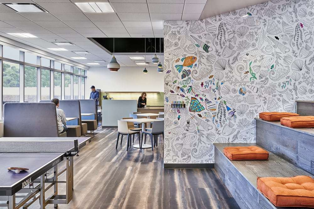 Workday New Office Space - Cultural Identity by AP+I Design