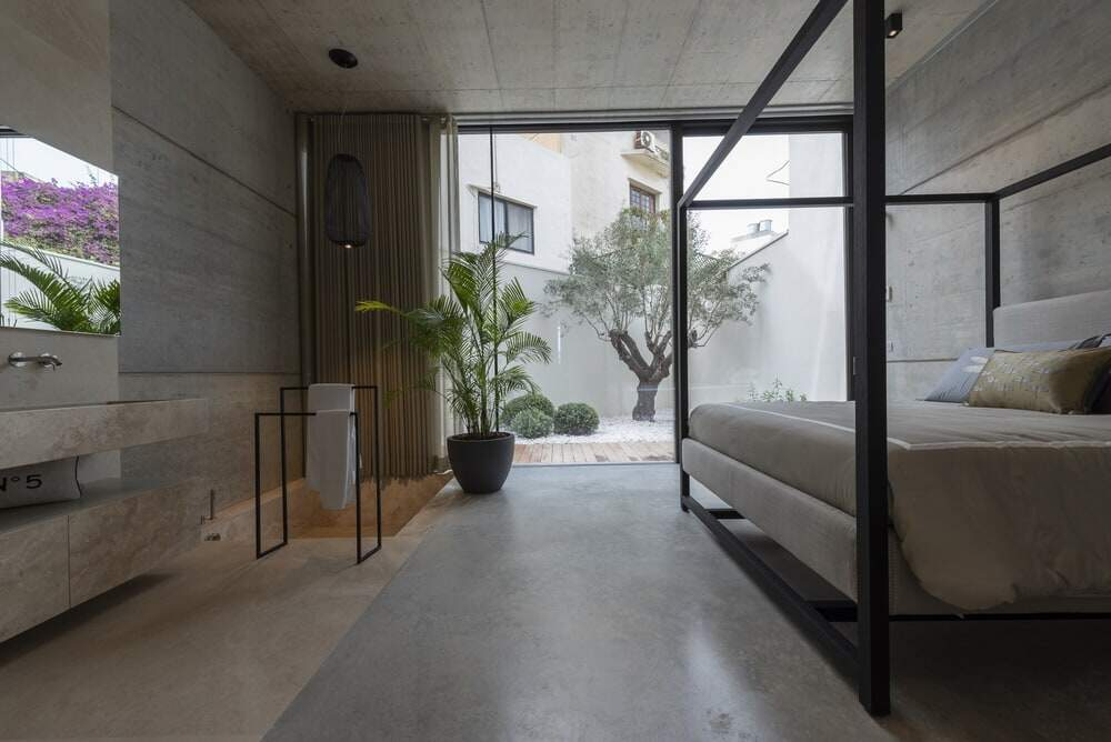 bedroom, Architrend Architecture