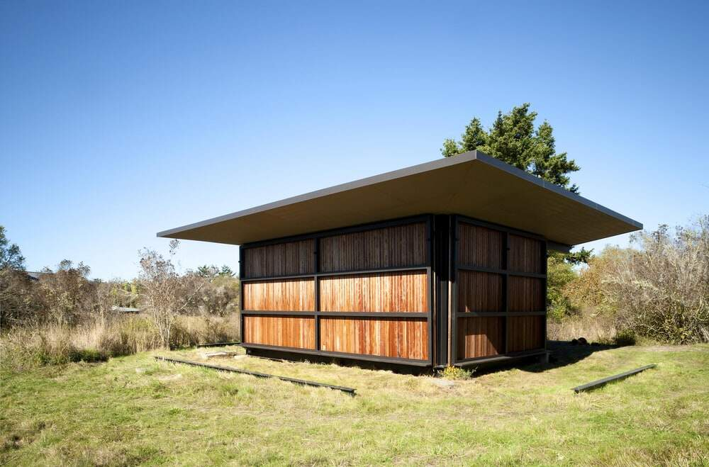 False Bay Writer's Cabin by Olson Kundig