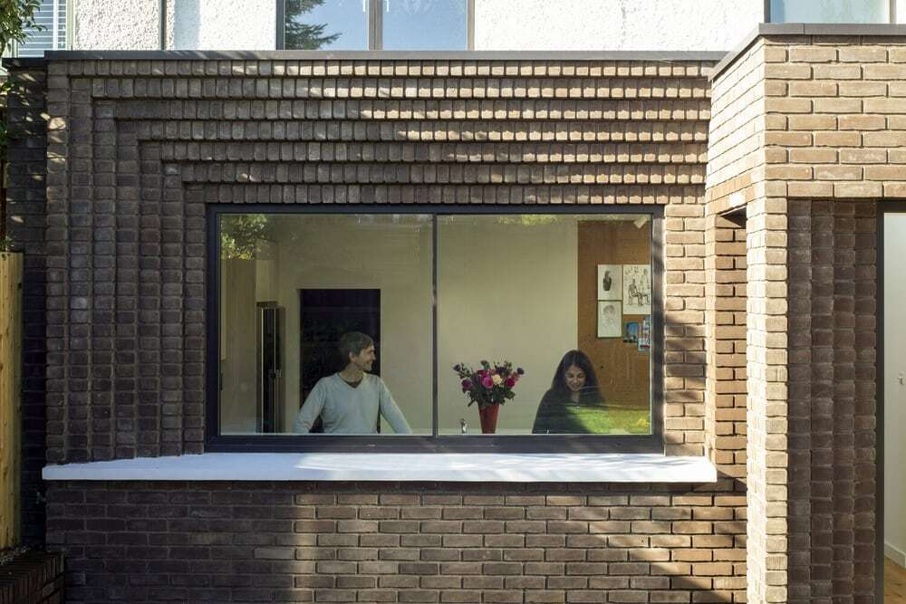 The Corbelled Brick Extension by YARD Architects