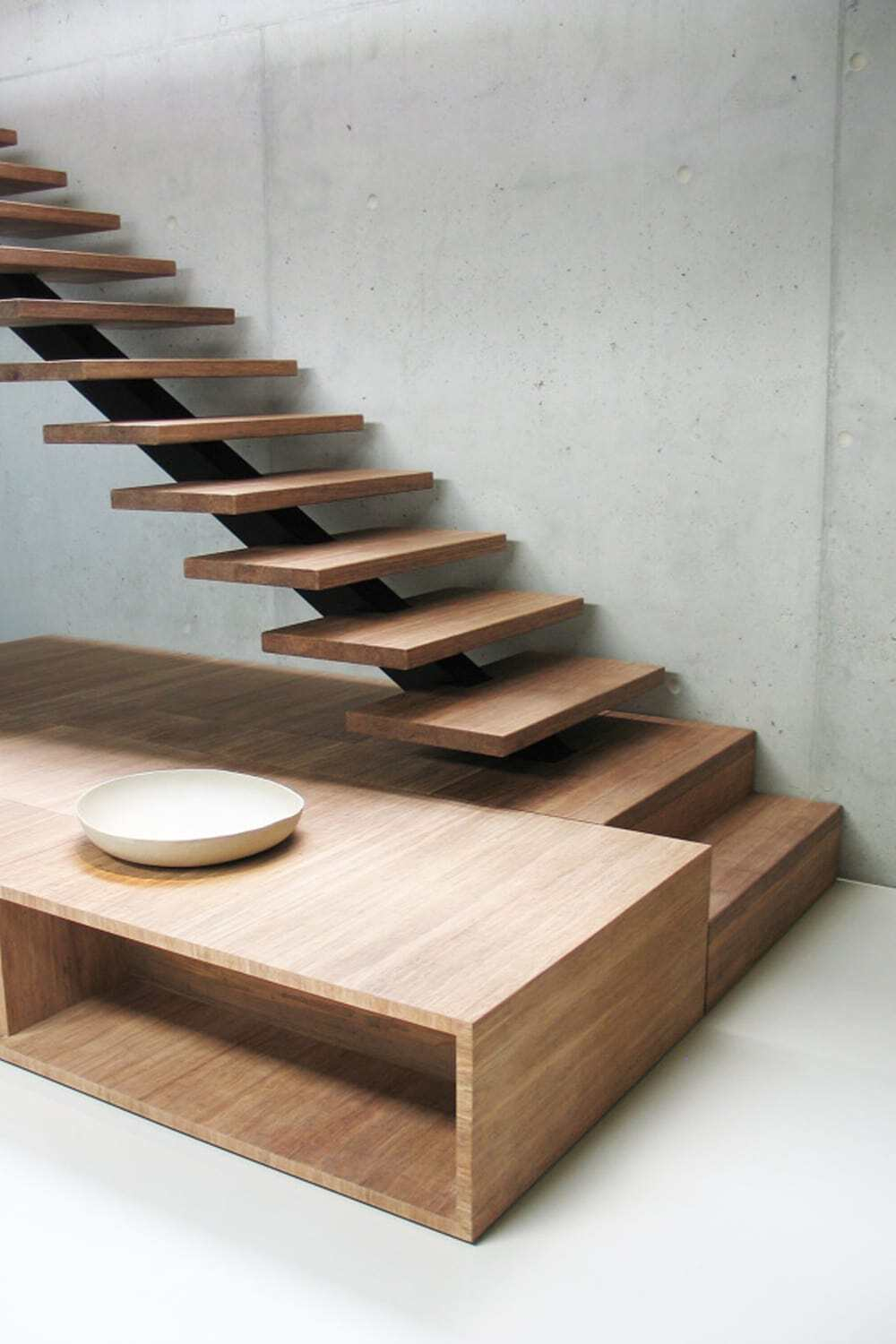staircase, Paul de Ruiter Architects
