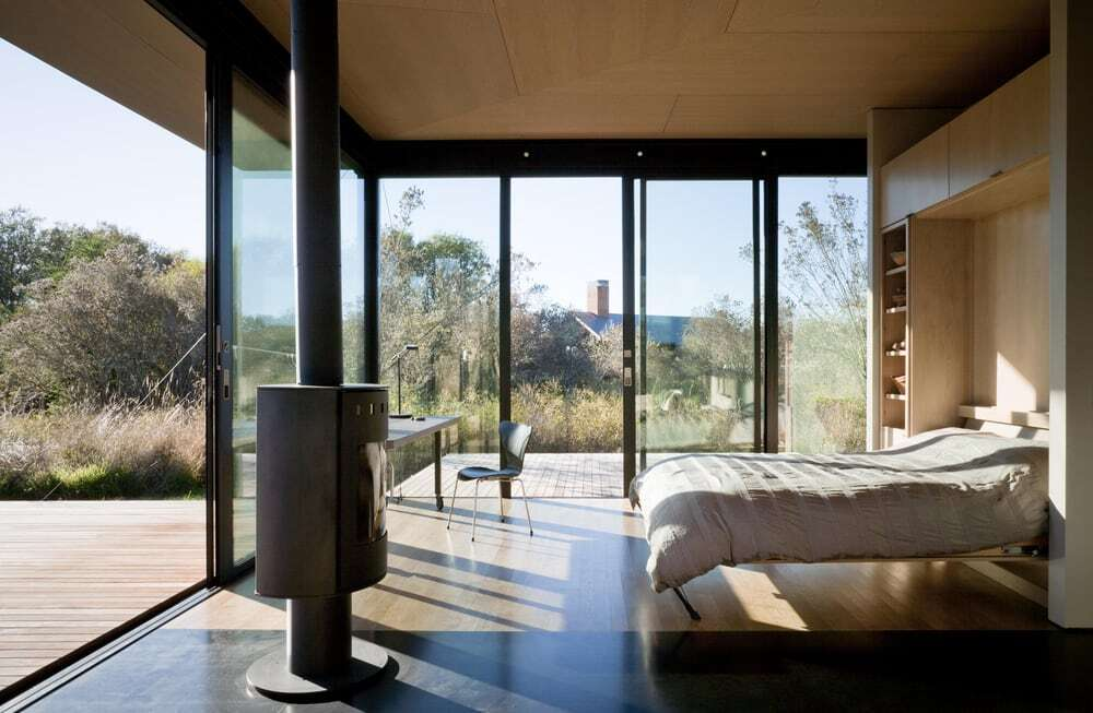 bedroom, Olson Kundig
