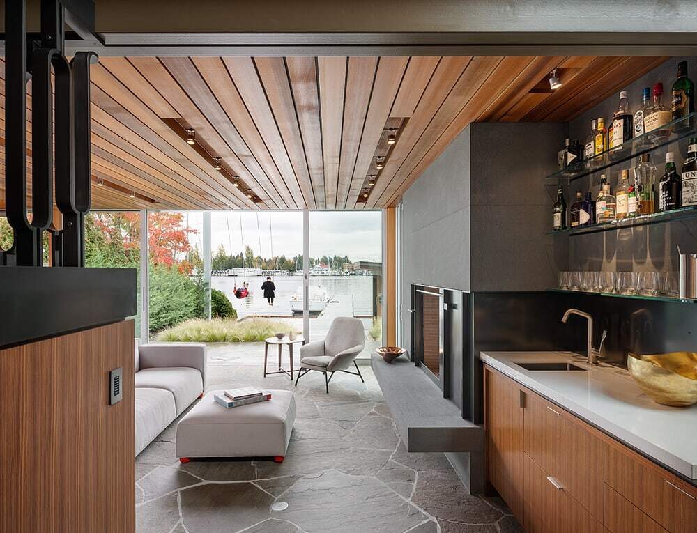 Portage Bay House, Heliotrope Architects