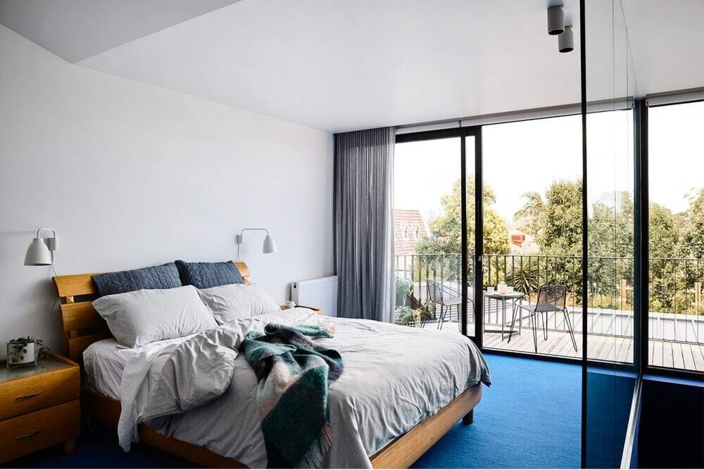 bedroom, Taylor Knights Architects