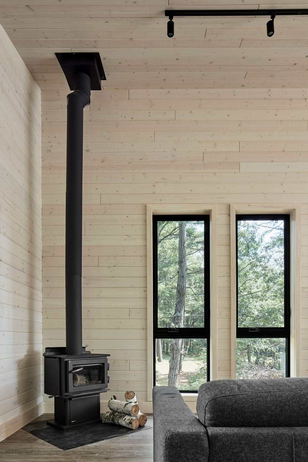 fireplace, Solares Architecture