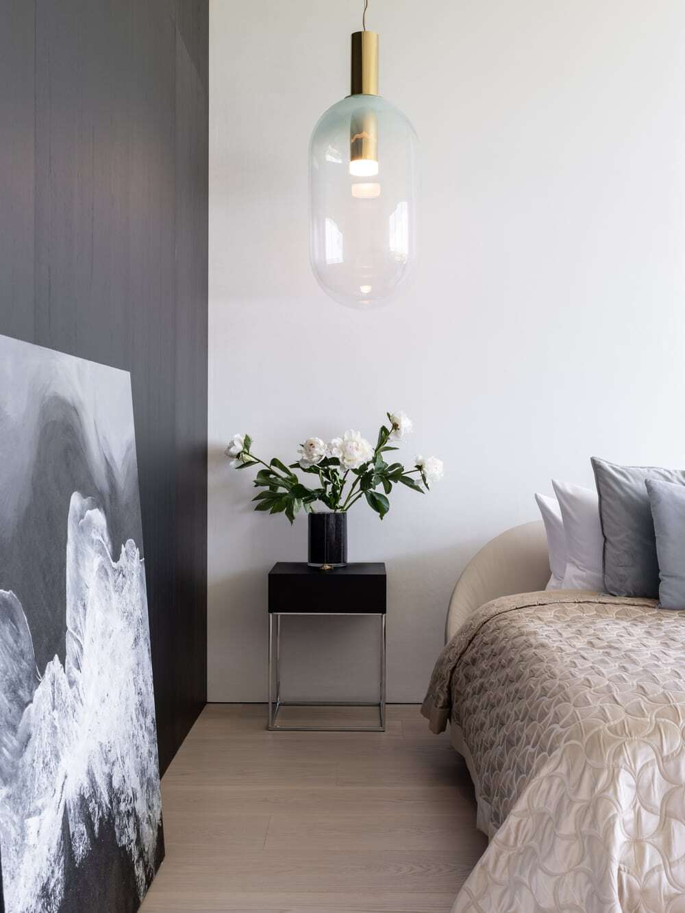 bedroom by Sergey Makhno Architects