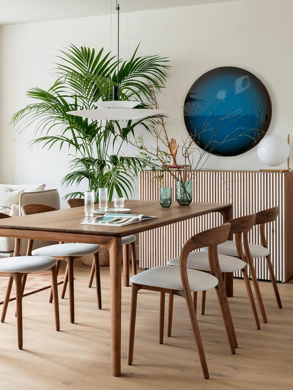 dining room by The Room Studio