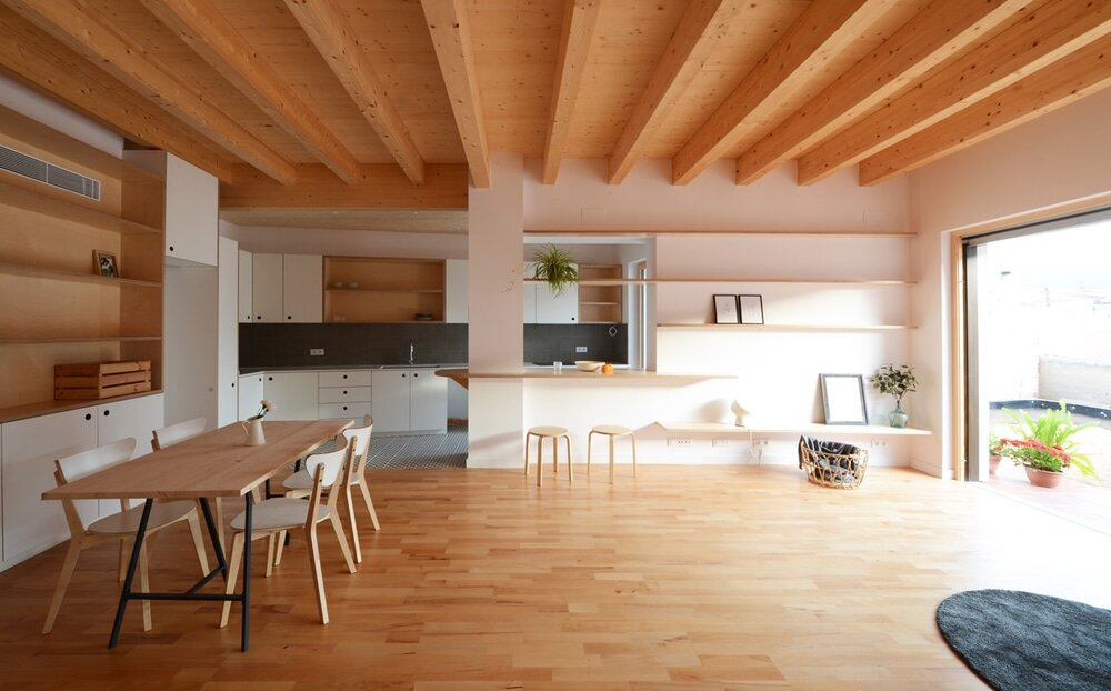 Wooden Single House with Sustainability and Low Cost Criteria Design