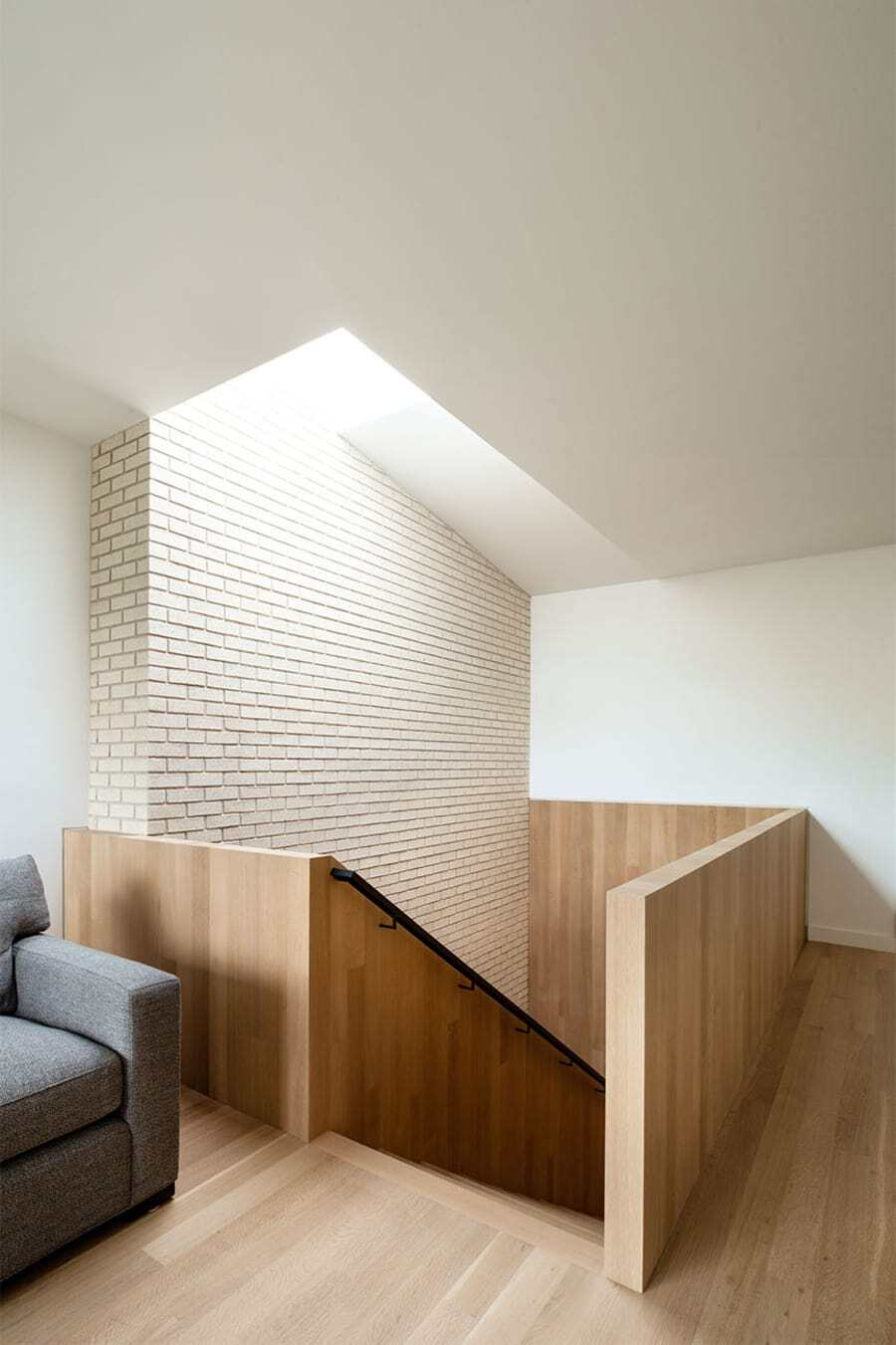 staircase, Baldridge Architects