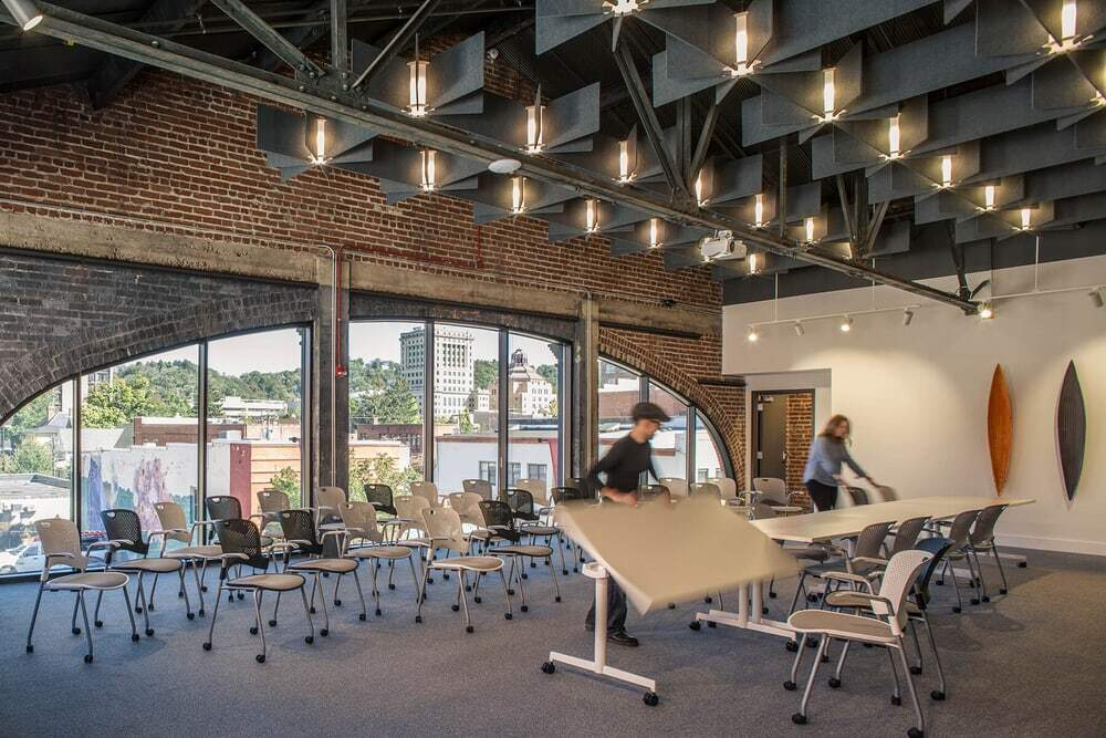 Center for Craft , event spaces, Samsel Architects