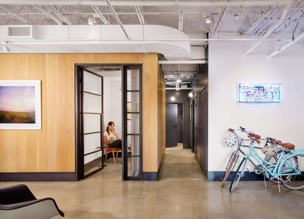 A Mid-Century Austin Office Building Transformed to Foster Interdisciplinary Collaboration