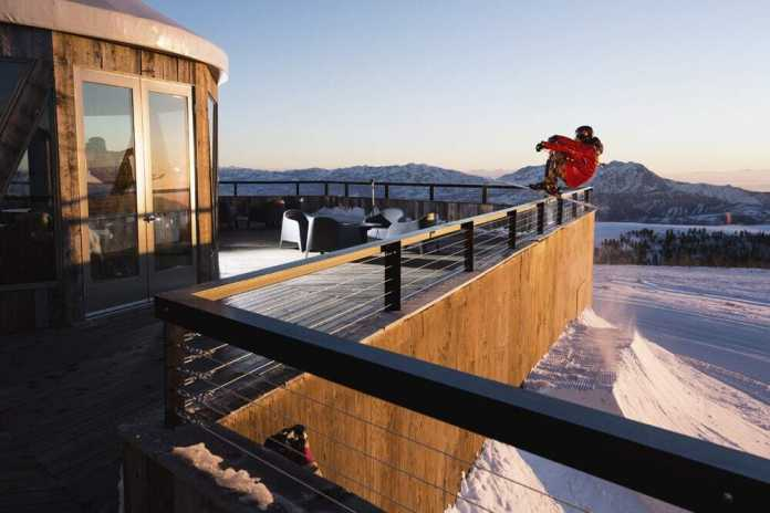 Skylodge at Powder Mountain, Utah by Skylab...a Mountaintop Event Center