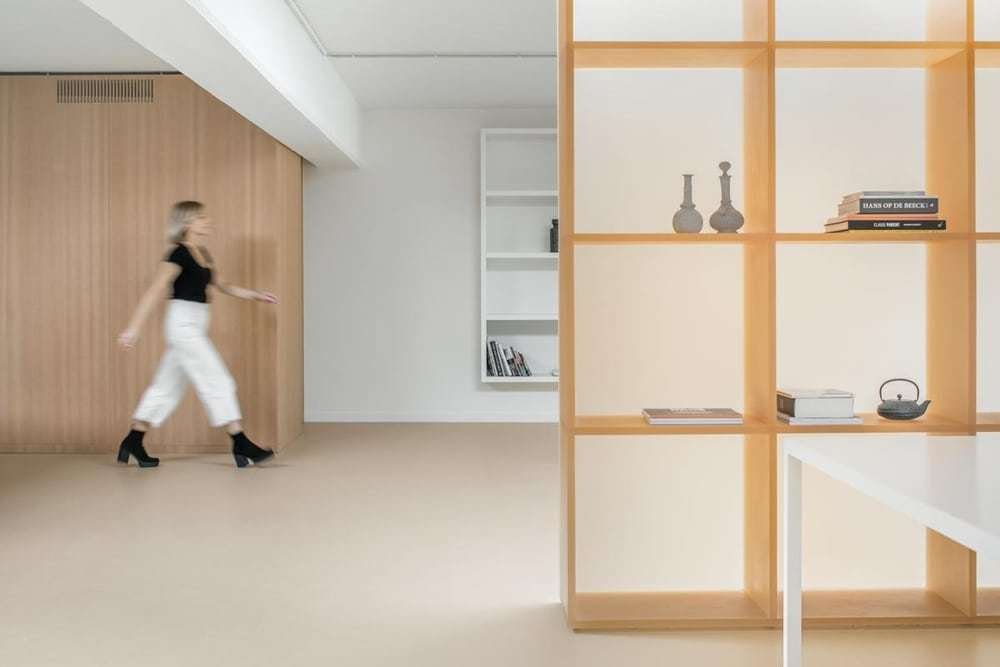 Hodb Apartment in Anderlecht by B-ILD Architects