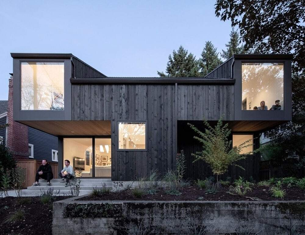 One-Story 1945 Cottage in Portland Transformed into a Comfortable Contemporary House