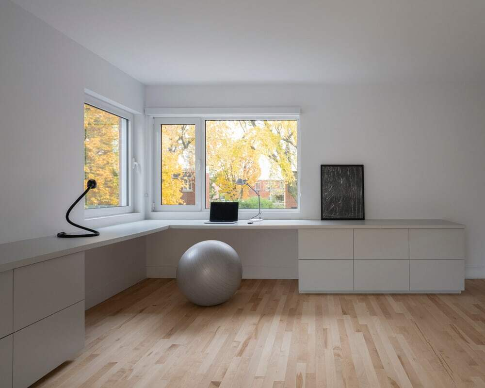 home office, Dupont Blouin Architects