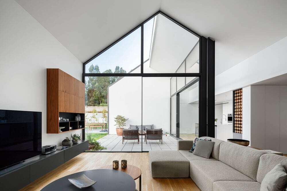 living room, Hous3 Architects