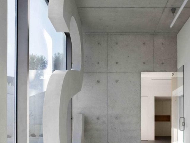 Steelform Factory - The Concrete Defines the Industrial Building
