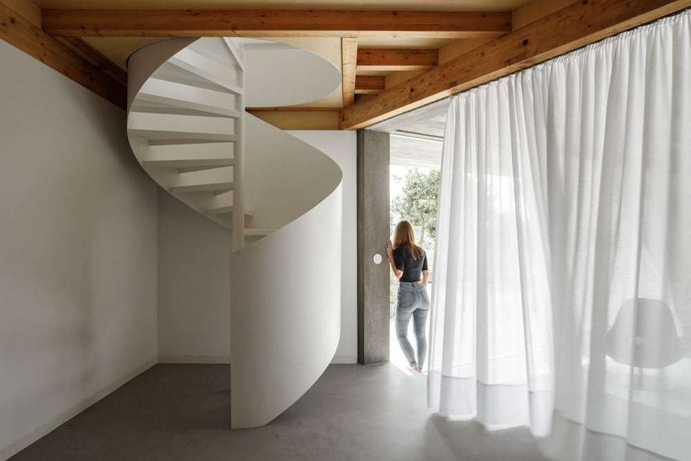 staircase, Paulo Merlini Architects