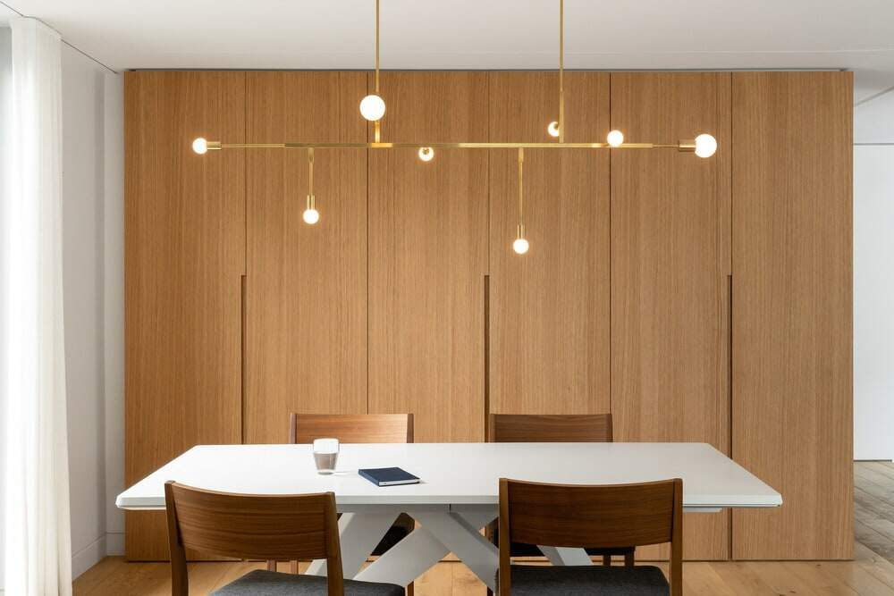 dining room, Paul Bernier Architecte