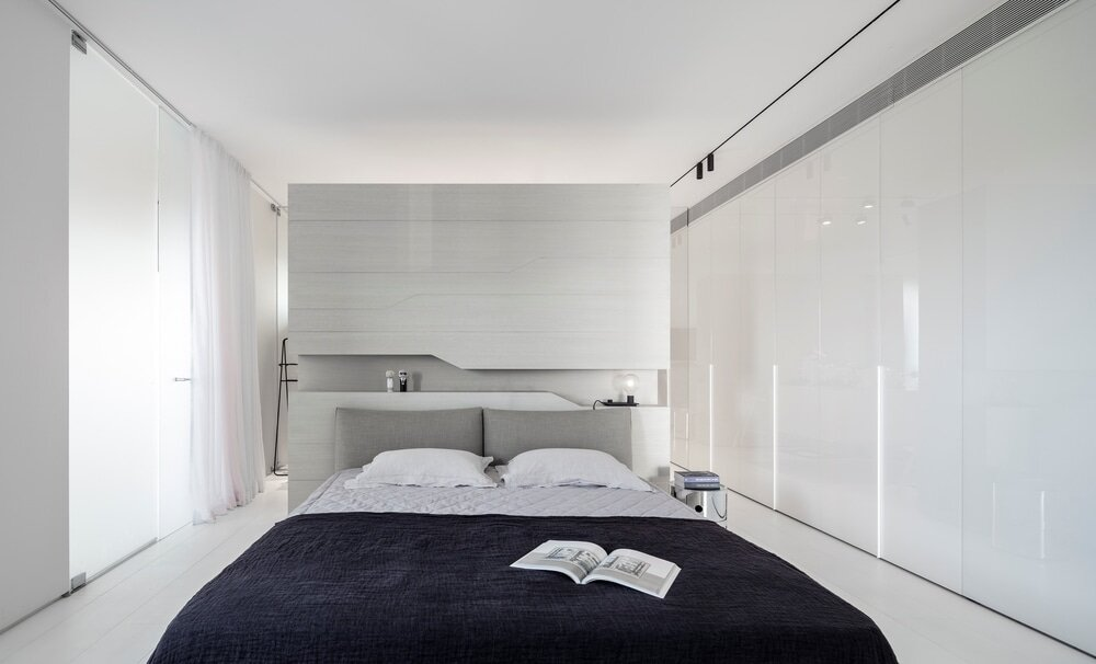 bedroom, Axelrod Architects