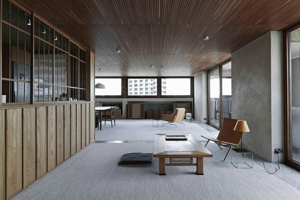 Apartment in Shakespeare Tower, Barbican by Takero Shimazaki Architects