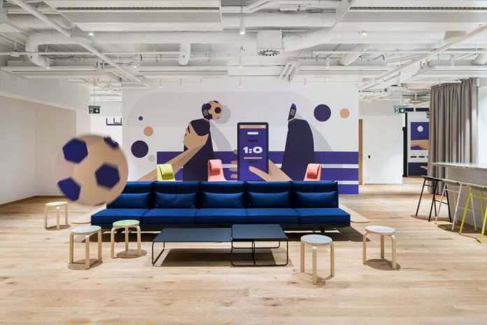 Agile and Dynamic Offices for FEG by Studio Perspektiv