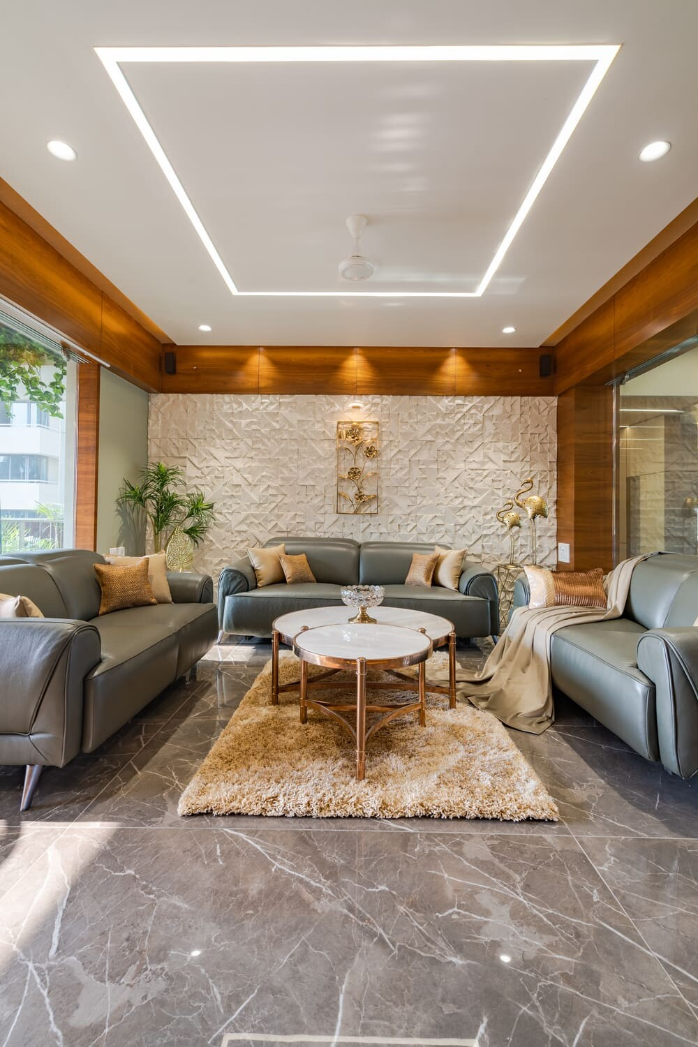 living room, Shayona Consultant