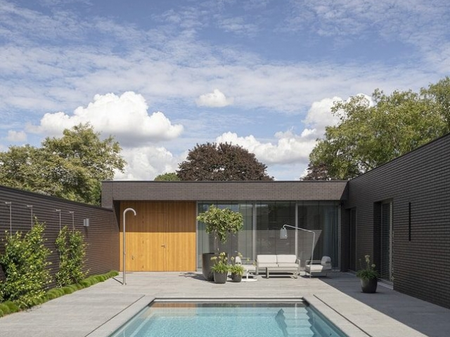 Outside In House by i29 Interior Architects and Bedaux de Brouwer Architects